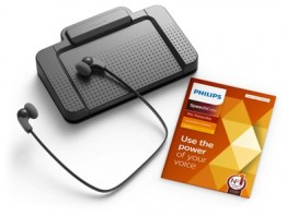 Philips 7277 SpeechExec Pro Deluxe Transcription Kit with version 11.5 Software