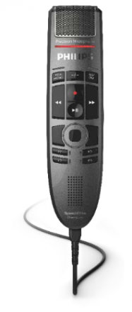 "Philips 3700 SpeechMike Premium ""TOUCH"" USB dictation microphone - Push Button"