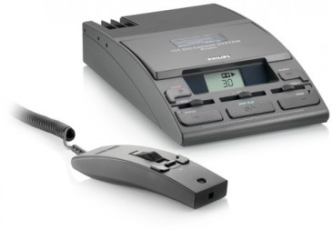 Philips 725 Mini Cassette Desktop Dictation Kit